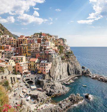 Cinque Terre krompirjeve počitnice