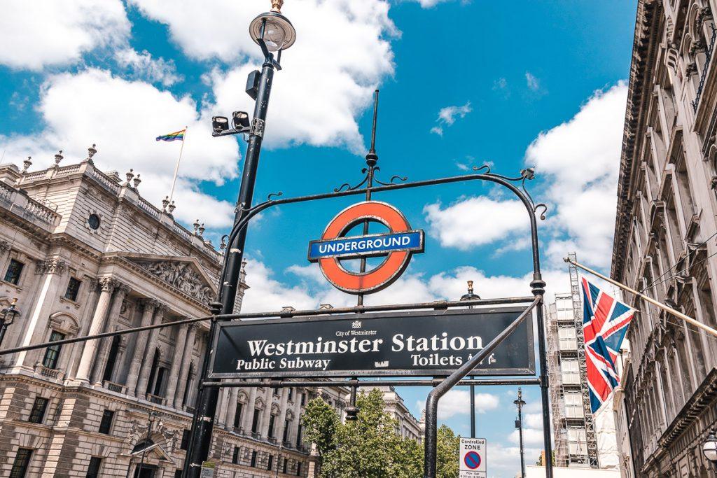 London potovanje Westminster