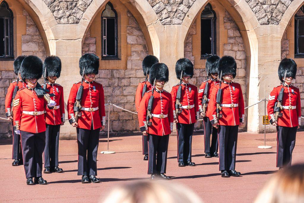 London grad Windsor menjava straže