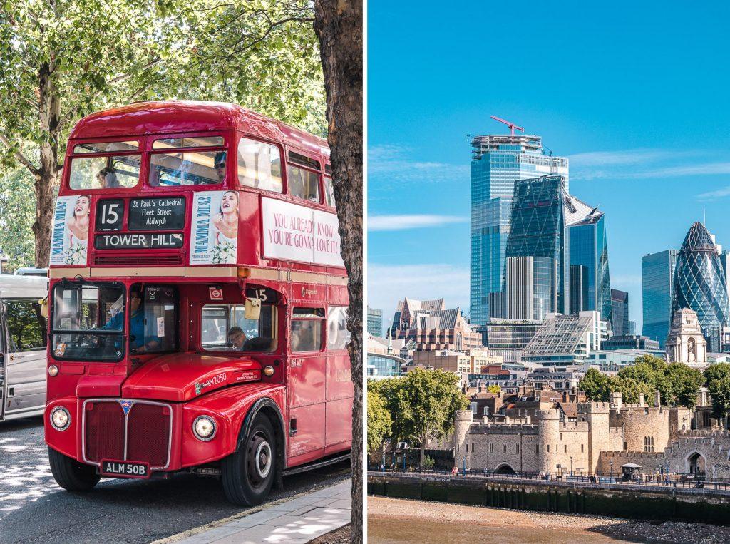 London potovanje