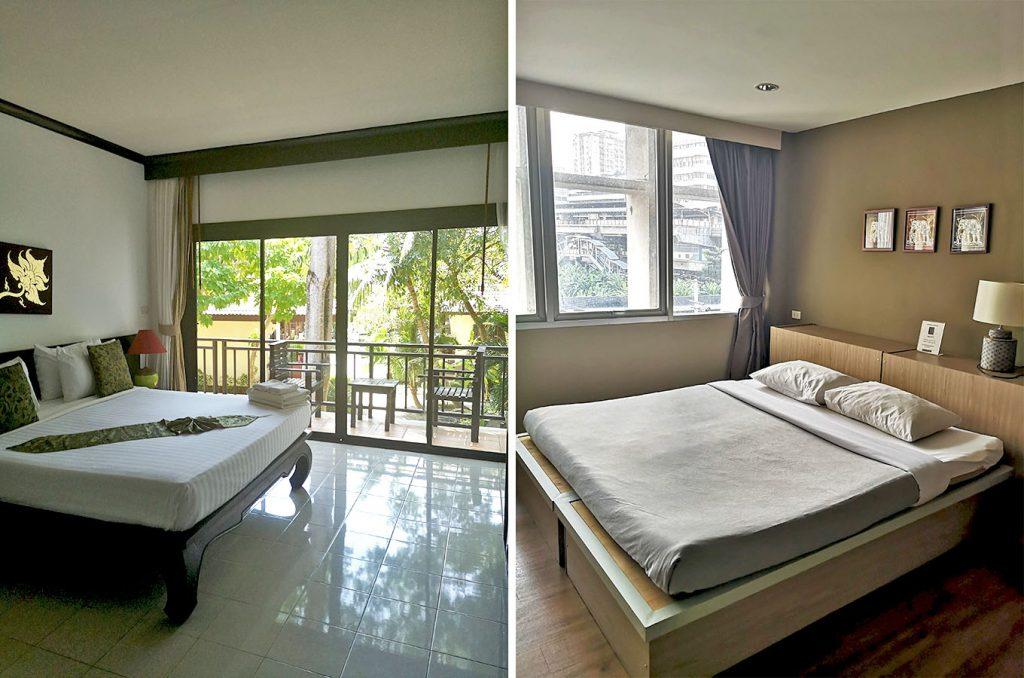 hotelske sobe Tajska