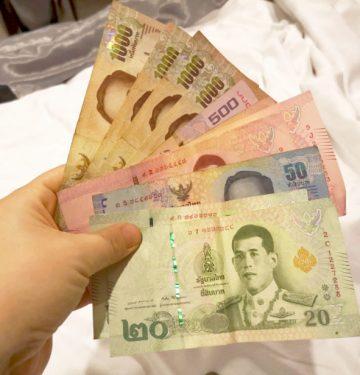 Stroškovnik Tajska